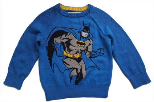 Baby GAP Boys Knitted BATMAN Jumper Boy Knit Marvel Heroes Comic 18-24 m £24.95