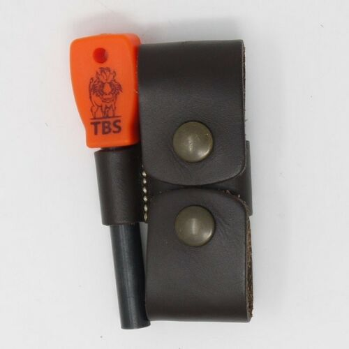 TBS LEATHER DC3 and Firesteel Belt Pouch Choice of Colours