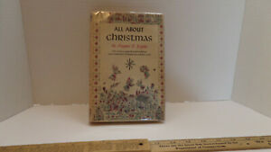 All About Christmas by Maymie R. Krythe - Hardcover - 1st Edition - Vintage 1954