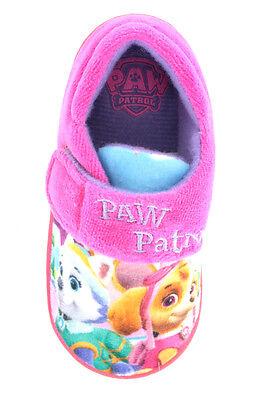 Nick jr Paw Patrol Niñas Perro Zapatillas Zapatos Azul Rosa Niño Size Uk 5-10
