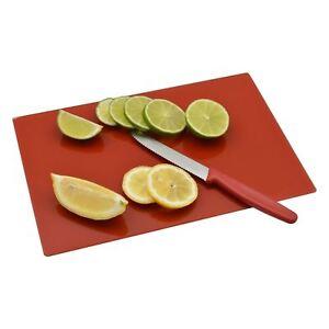 Clear Glass Worktop Saver Kitchen Chopping Cutting Utensil Board 30 x 20 cm