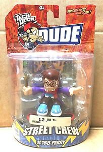 NEW-NOS-2009-TECH-DECK-DUDES-STREET-CREW-158-PERRY-CHARACTER-TOY