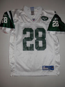 best service d2e5a fb19a Details about NEW Reebok Vintage New York Jets Curtis Martin Jersey Youth  Large 14-16