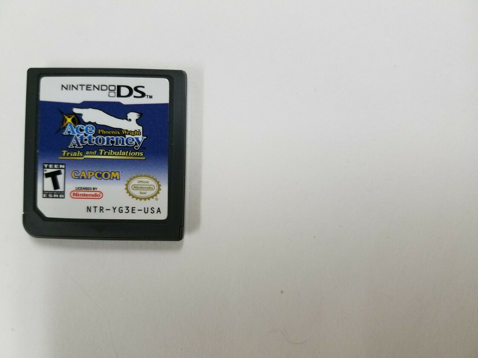 Phoenix Wright: Ace Attorney Trials And Tribulations (Authentic Nintendo DS NDS) 1