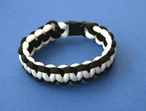Cornwall Kernow 7 Strand Paracord Bracelet avec Toboggan Boucle