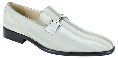 Expressions 6757 Mens Black Fancy Buckle Tuxedo Slip On Dress Loafers Shoes