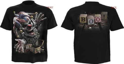3XL // Rock Biker //Metallo//Mietitore// Skull Goth Spiral Direct Game Over