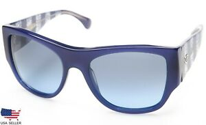 4615972874 NEW CHANEL 5297 1483 S2 BLUE  BLUE LENS SUNGLASSES GLASSES 57-19-140 ...