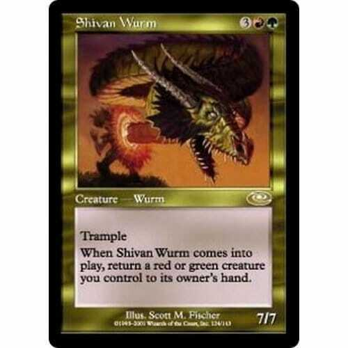 Condition MTG PLANESHIFT Shivan Wurm Excellent
