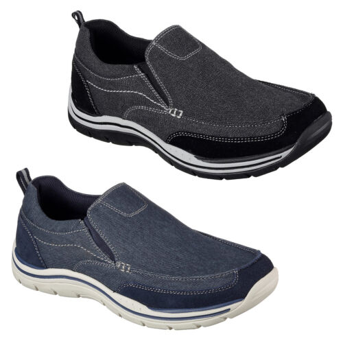 Expected 64928 Zapatos Tomen Holgado De Hombre Skechers Lona Corte wpPvXqxqE