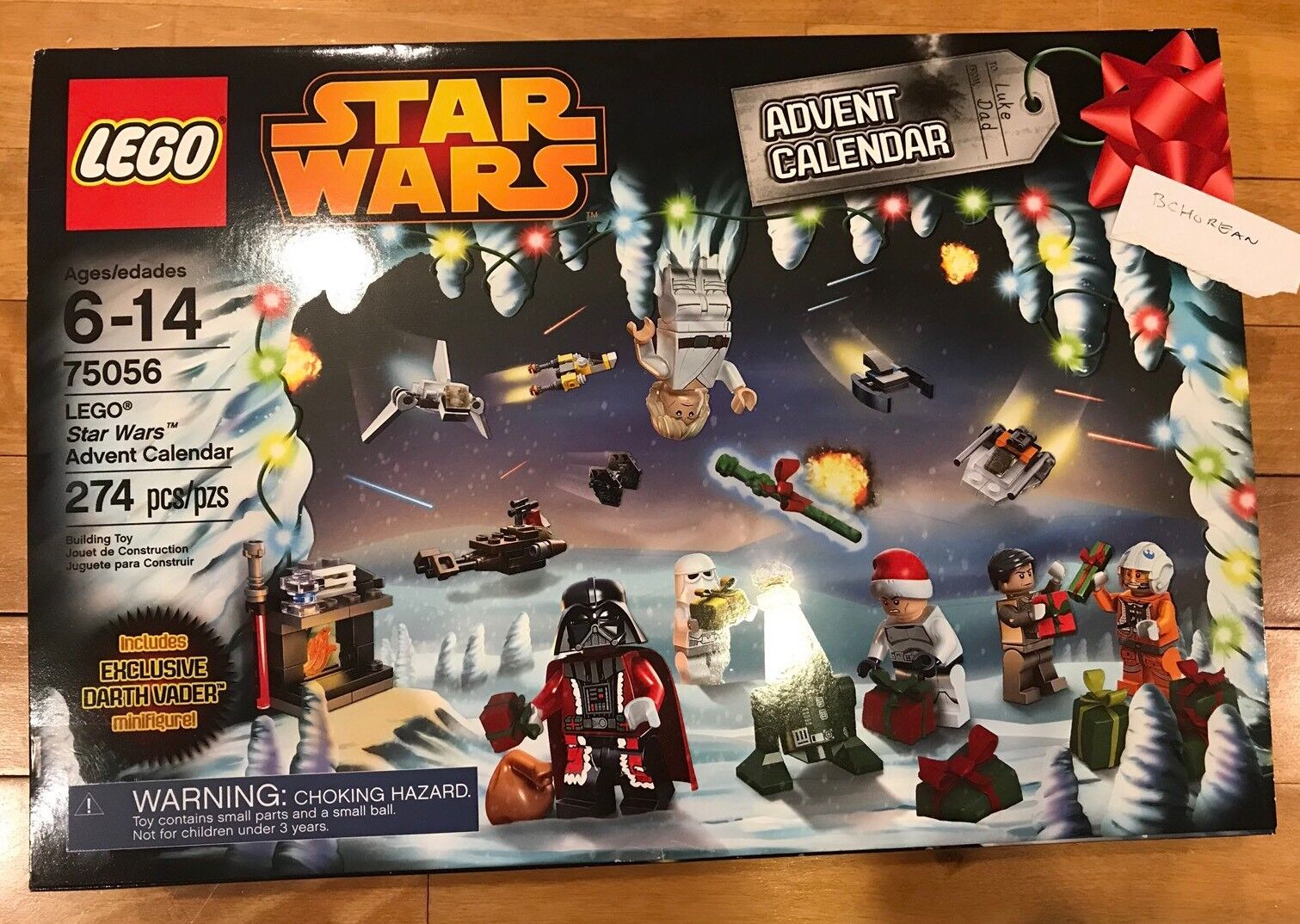 Lego 75056 2014 Limited Edition Christmas Star Wars Advent Calendar RetiROT New