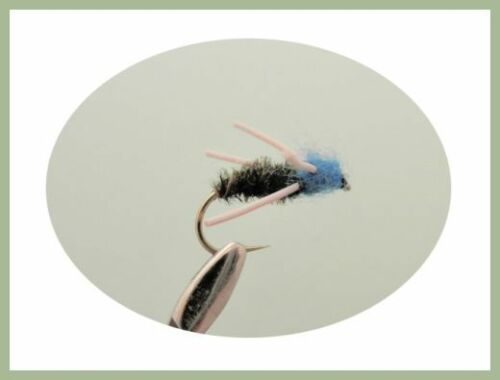 9 Varieties Mixed Size for Fly Fishing Beetles Trout Flies 36 per Box