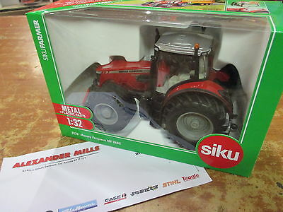 SIKU 3270 MASSEY FERGUSON MF 8680 Tracteur 1:32 scale replica Model Farm Agri Jouet