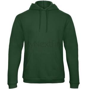 B-amp-C-Collection-Mens-Womens-50-50-Hoodie-Hooded-Sweatshirt