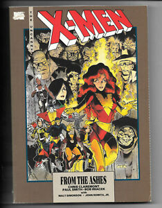 The-Uncanny-X-Men-From-The-Ashes-1-1990-VF-TPB-1St-Print-Marvel-Comics