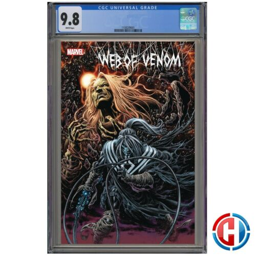 WEB OF VENOM WRAITH  CGC 9.8 Guaranteed PRESALE 9//9//20 Marvel Comics CATES