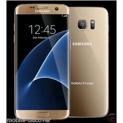 Samsung Galaxy S7 Edge - G9350 32GB (Gold ) 32GB Dual Sim UNLOCK
