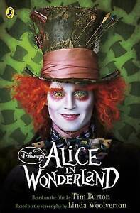Alice-in-Wonderland-Book-of-the-Film-by-Tim-Burton-Used-Book-Paperback-FRE