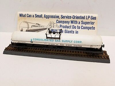 Track Loyal Rare Ho Upgraded Athearn Consolidated Gas Supply Corp 62' Tank Car Box Crease-Resistance