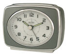 Acctim 13877 Retro 2 Alarm Clock Titanium