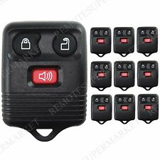 Lot 10 Wholesale Bulk Entry Remote Fob for Ford 98-15 Explorer 01-10 Sport Trac