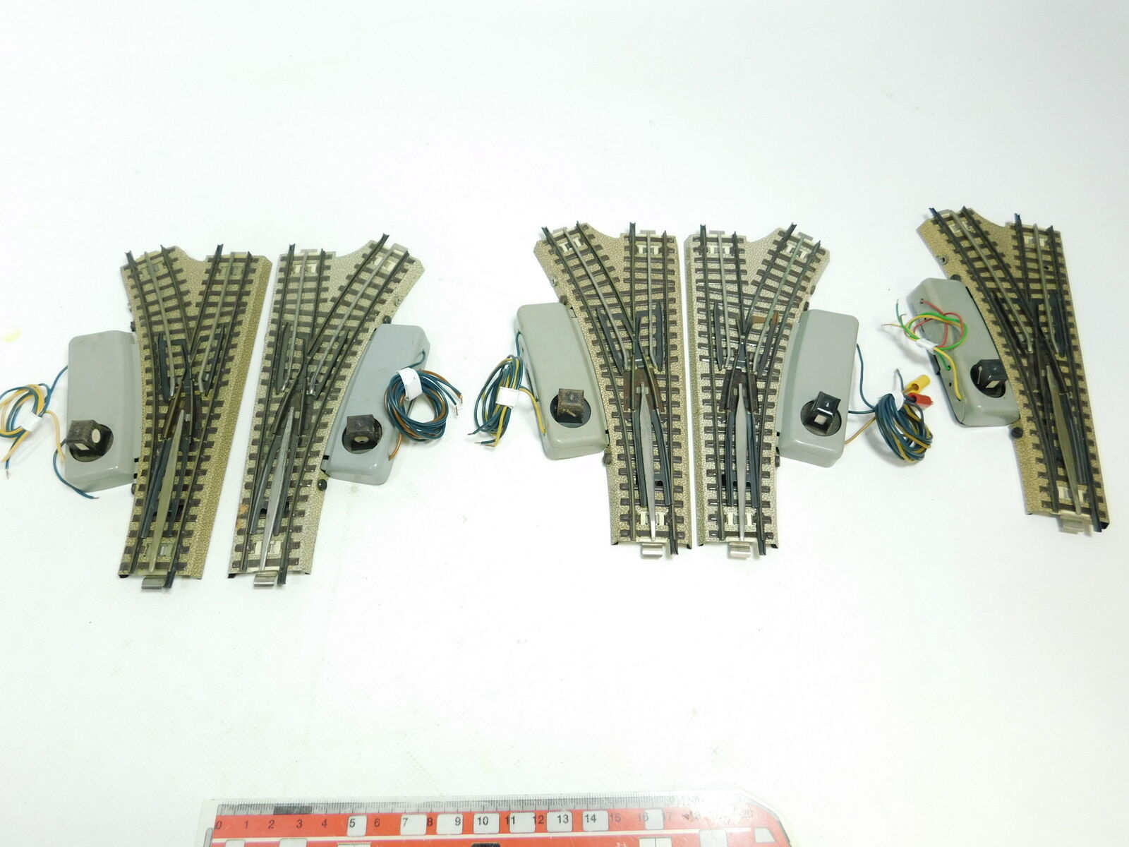 BD6732 5x marklin H0 00 AC MorbidoDeviatoio M Pista per 3600800, Testato