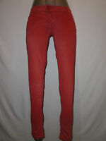 Met Womans Pink Super Soft Skinny Jeans Size 28 Made In Italy
