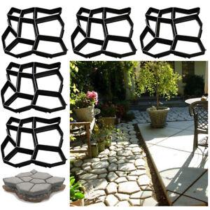 Pflasterform 5x Schalungsform DIY Innenbereich Schablone Garten