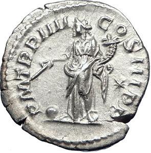 ELAGABALUS-221AD-Rome-Authentic-Ancient-Silver-Roman-Coin-Providentia-i73557