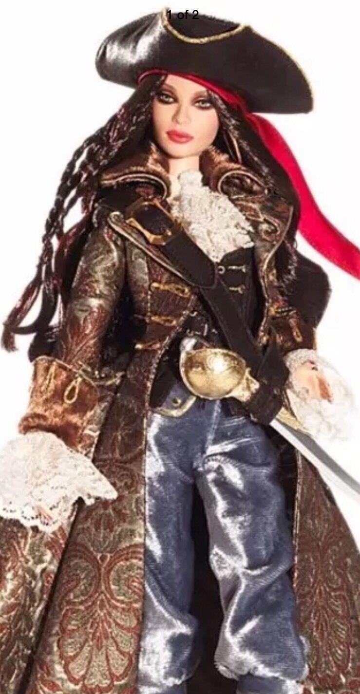 Barbie 2007 oro Label el Pirata Muñeca Barbie Con nunca quitado de la caja de remitente