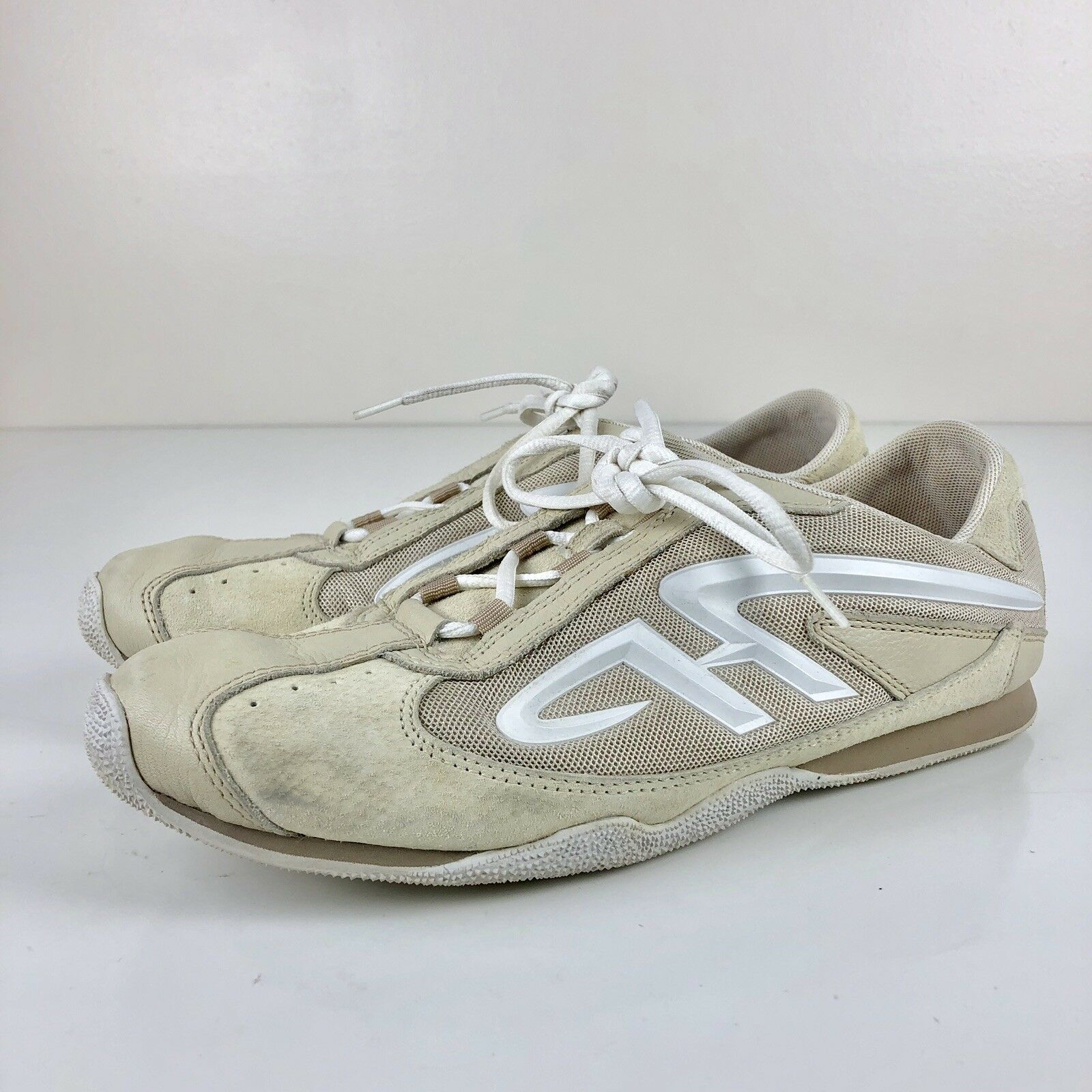 Hush Puppies Womens Casual Comfort Flats Walking Sneaker Athletic shoes Size 10