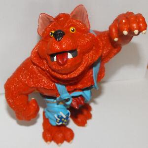 Werewolf-Heavy-Plastic-Figurine-4-inches-tall-HALLOWEEN-MONSTER-Orange-Were-Wolf
