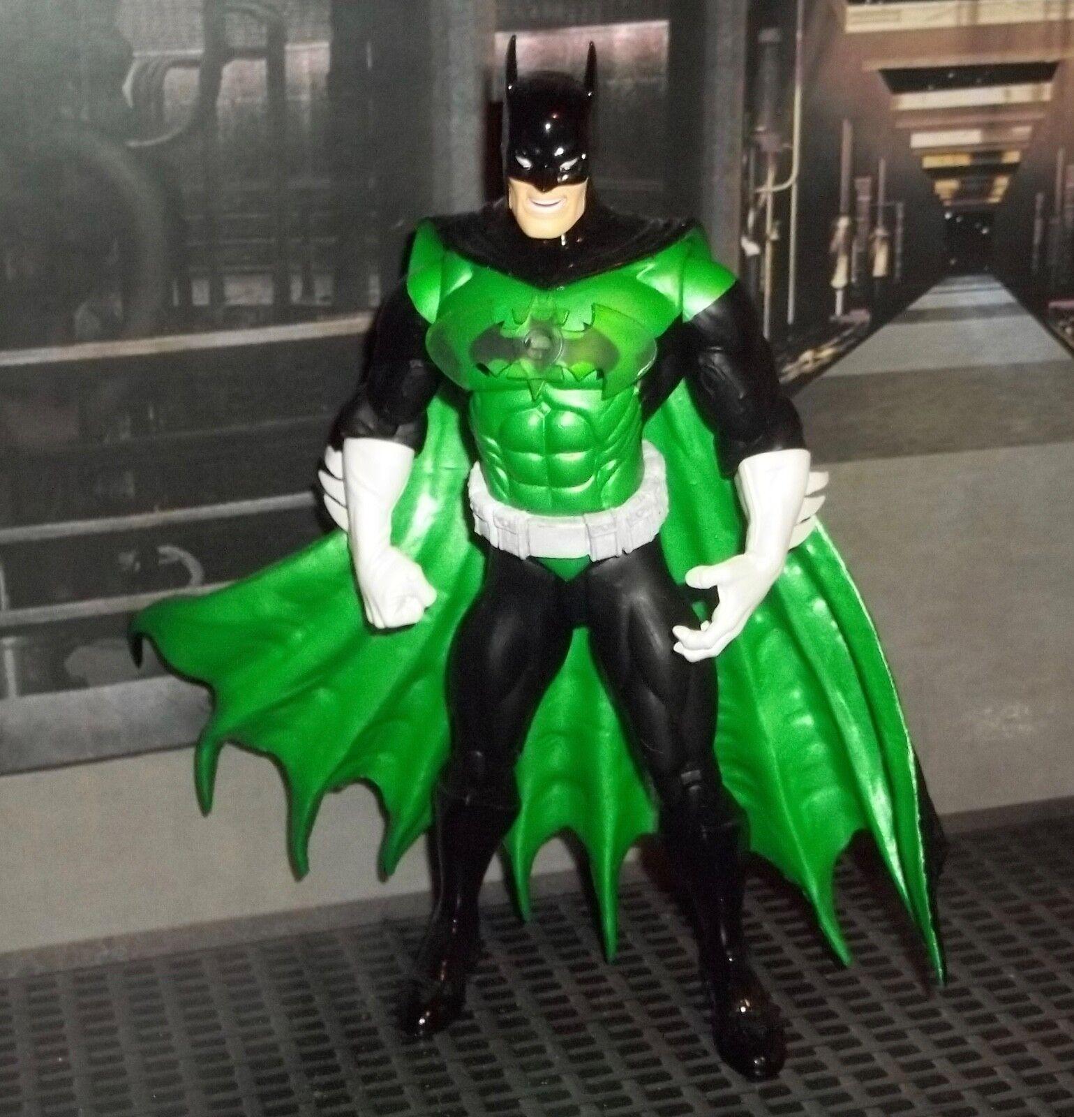 DC DIRECT COLLECTIBLES verde LANTERN SERIES 3 BATMAN AS verde LANTERN FIGURE