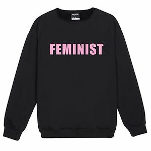 FEMINIST-SWEATER-JUMPER-TOP-WOMENS-KALE-PINK-FASHION-TUMBLR-CUTE-HIPSTER-MUSIC
