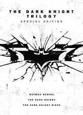 The Dark Knight Trilogy: 3 Batman Movies (DVD, 2016, 4-Disc Set) *BRAND NEW*