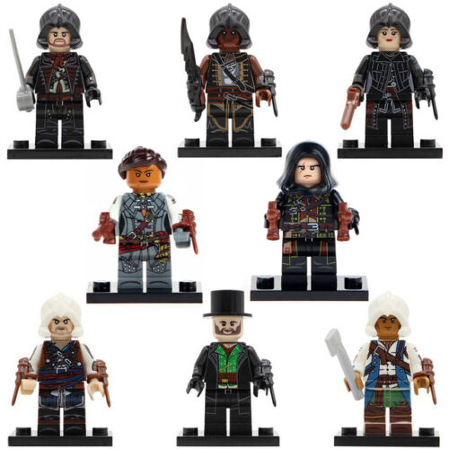 Assassins Creed Minifigure Dorian Kenway Cormac Figure Custom Lego Minifigures
