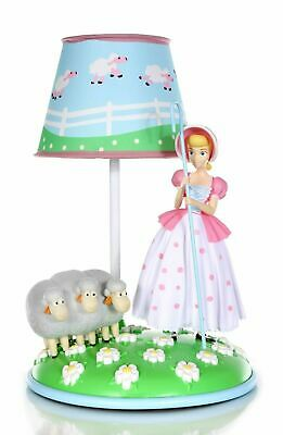 "Disney Pixar Toy Story 4 BO PEEP TABLE LAMP 14/"" Novelty LIGHT-UP Sheep NEW 2019"