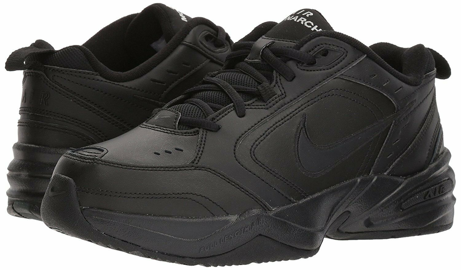 NIKE Men's Air Monarch IV Athletic Cross Trainer Shoe Black Comfortable New shoes for men and women, limited time discount