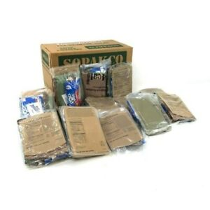 MRE meals ready to eat emergency food storage long term camping hiking survival