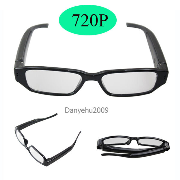 Mini 720P Spy Camera Glasses Hidden Eyewear DVR Video Recorder Cam Camcorder