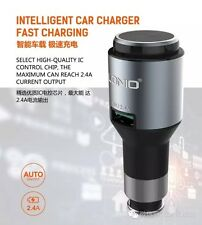 Car Charger with Bluetooth Headset LDNIO CM20 2.4 A Intelligent Quick charger