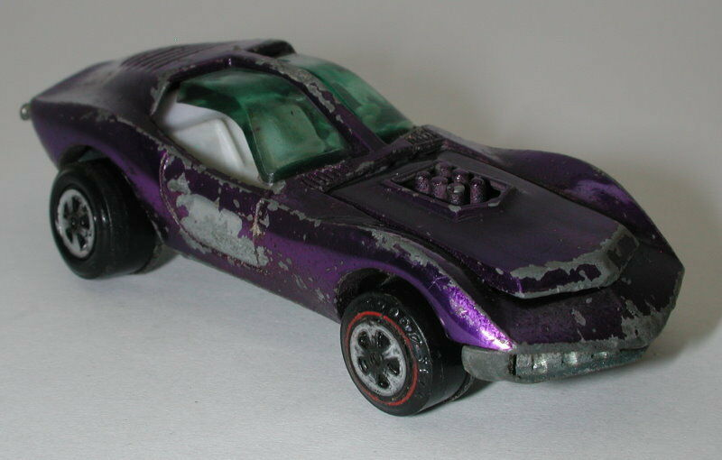 Topper Johnny Lightning Purple Mako Shark oc13228