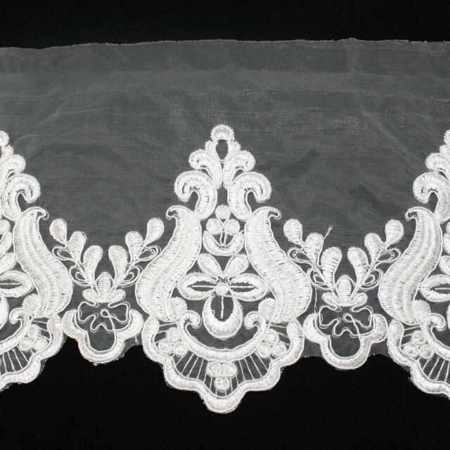 Unique Embroidered Venise Venice Lace Trim #271 - Bridal Wedding Dress Supply