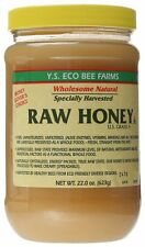 Natural Organic Honey 22 oz Pure Unfiltered Raw Honey Paste Ys Eco Bee Farms