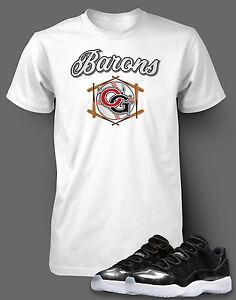 a34909481cdd2c Graphic T Shirt to Match AIR JORDAN 11 Barons Shoe Pro Club Short ...