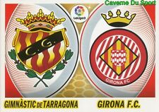 04 BADGE LOGO - GIMNASTIC / GIRONA.FC ESPANA  STICKER LIGA 2 2017 PANINI