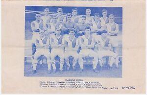Team Pic from 1963 Football Booklet  BLACKBURN ROVERS  LEYTON ORIENT - Cardiff, Cardiff, United Kingdom - Team Pic from 1963 Football Booklet  BLACKBURN ROVERS  LEYTON ORIENT - Cardiff, Cardiff, United Kingdom