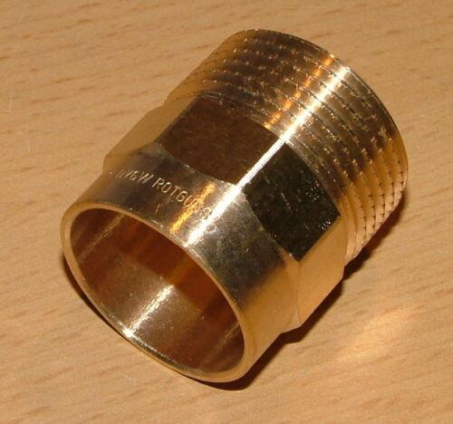 "Rotguss ÜG-Nippel I-AG// 15 mm x 3//8/""// DVGW zug. 708#"