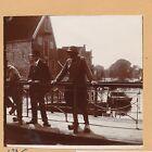 VOLENDAM c. 1900 - Hommes Costume Traditionnel Port Pays Bas- FD Hol 152