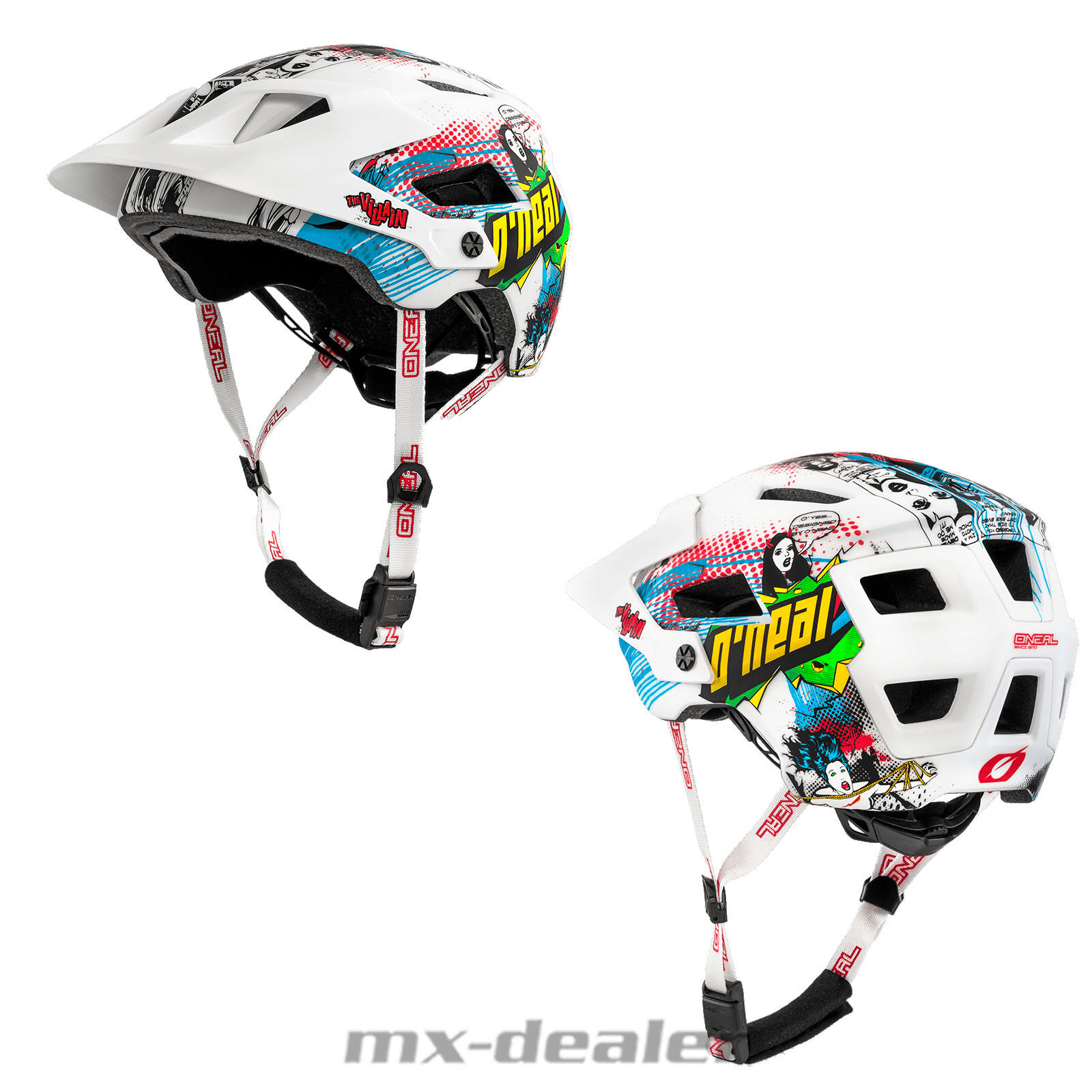O'Neal Defender 2.0 Bike Helmet All Mountain Bike Trail MTB Enduro Villain